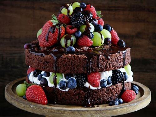 Красивые шоколадные торты фото