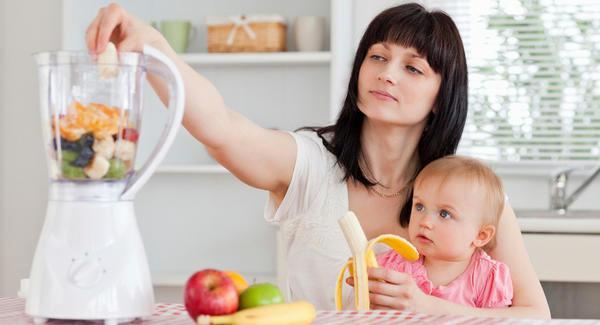 Как худеют после родов, питание