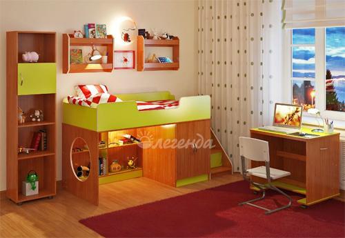 Модульная мебель в детской