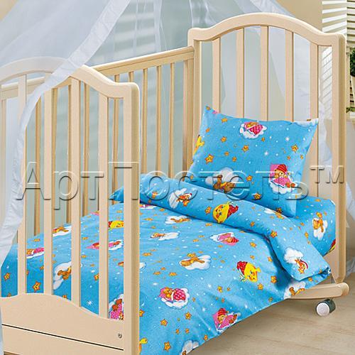 Выбираем белье в кроватку малышу