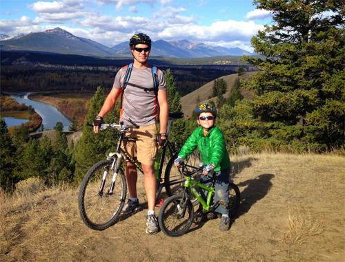 Прогулки на велосипеде всей семьей