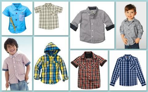 Детские рубашки - красота, качество, стиль