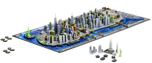 Четырехмерные модели городов, или познавательные пазлы от 4D Cityscape