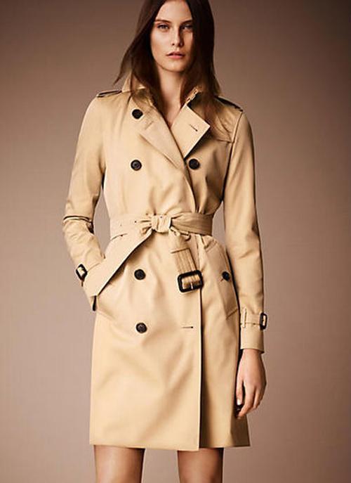 Модная основа женского гардероба – тренч