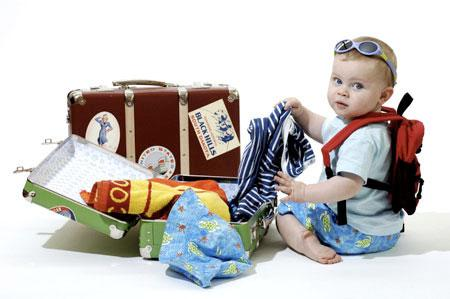 Что приобрести для путешествия с детьми