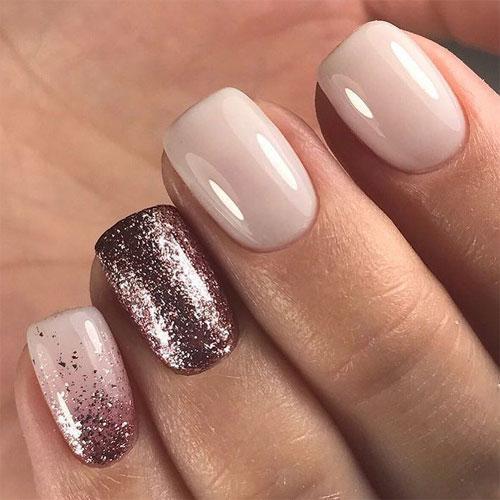 Модный маникюр на короткие ногти