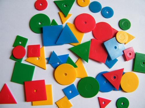 Логические блоки Дьенеша для развития малыша