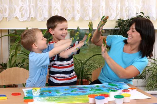 Любовь к творчеству присваивается с детства