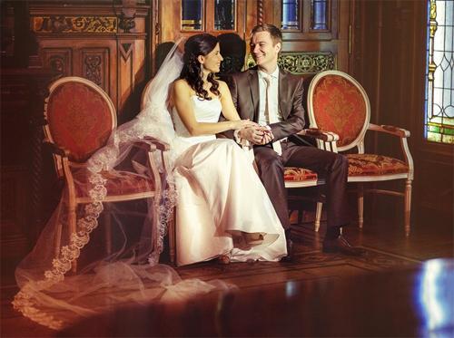 Свадебные мгновения в фотографиях