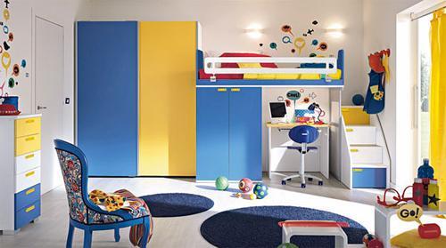 Особенности меблировки детской комнаты