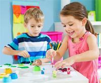 Как выбрать кисточки и краски для детей