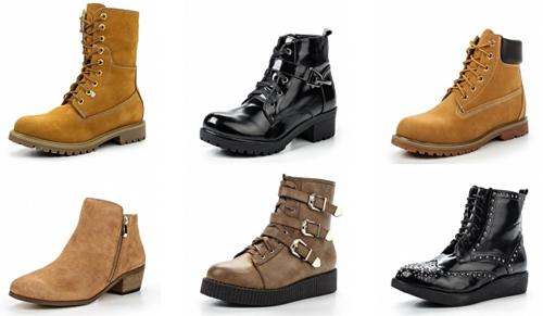 Новейшая мода на ботинки