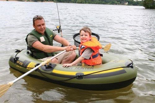 Рыбалка отдых для всей семьи