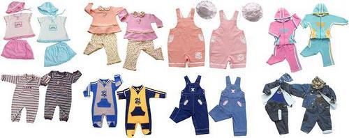 Выбираем одежду для новорождённого