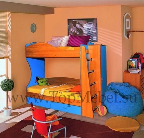 Приобретение двухъярусной кровати для детей