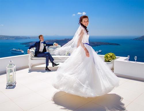 Правила проведения свадьбы за рубежом: выбираем Грецию