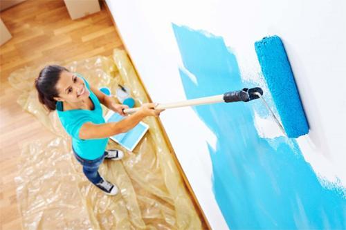 Судьба краски в ремонте помещения