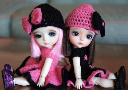 Кукла - учитель и подружка