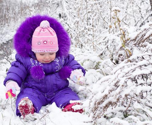 Одеваем малышей к зиме