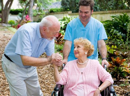Достойный пансион для пожилых людей