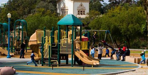 Игровая площадка – проводим время весело