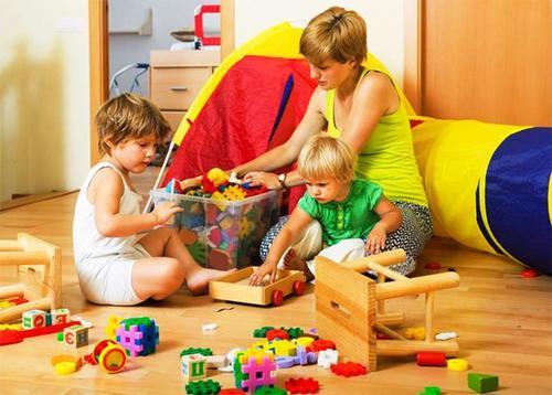 Детский конструктор, как способ развиваться