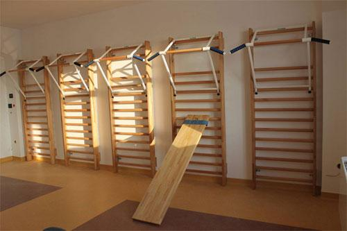 Спортивные упражнения в спортклубе и дома: отличная форма со шведской стенкой