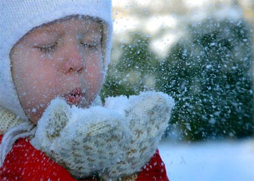 Зима и детский гардероб