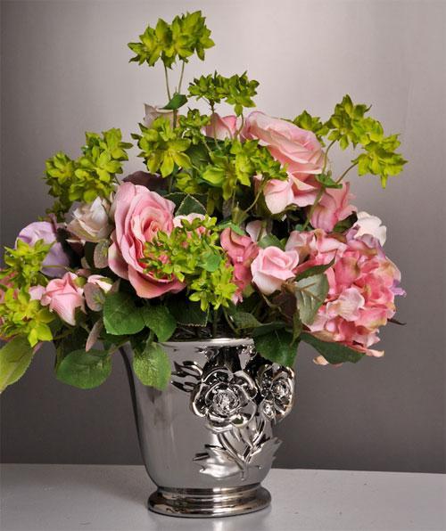 Стиль «винтаж» в букетах цветов