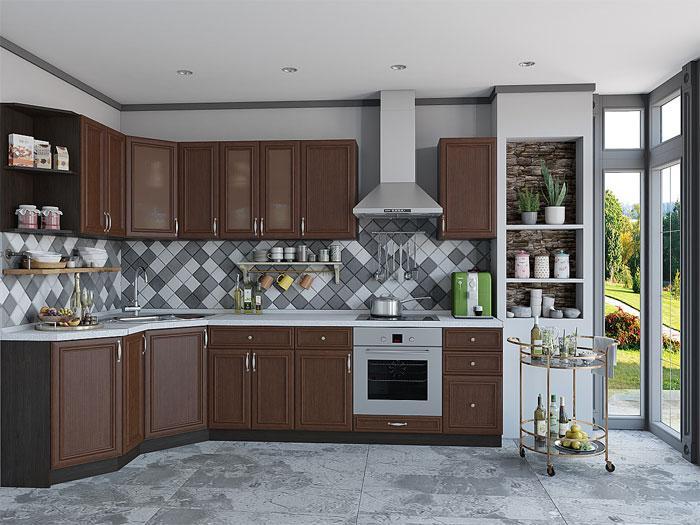 Кухонные гарнитуры: популярные цветовые решения