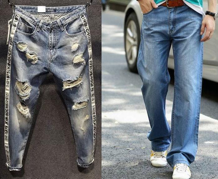 Мужские джинсы: законы выбора и модные тенденции