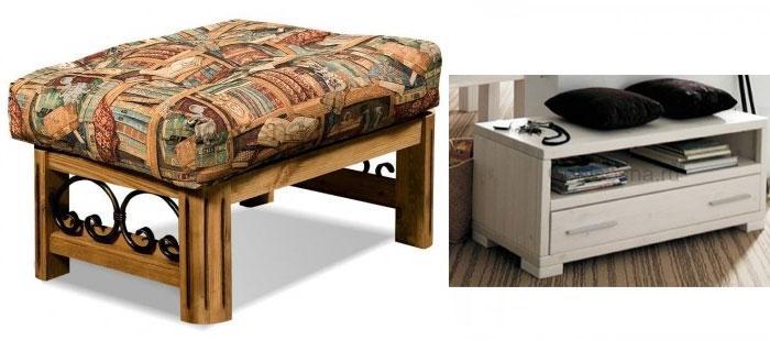 Мебель из натурального материала