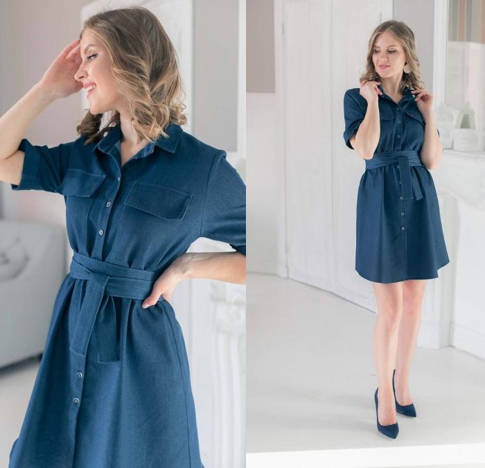 Джинсовые платья - это сама мода