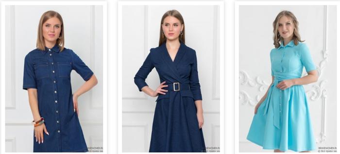 Джинсовые платья — это сама мода