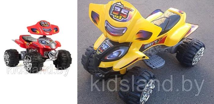 Дети будут в восторге — детский электромобиль квадроцикл