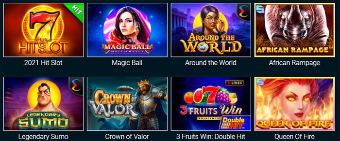 Новые игровые автоматы от казино Goxbet